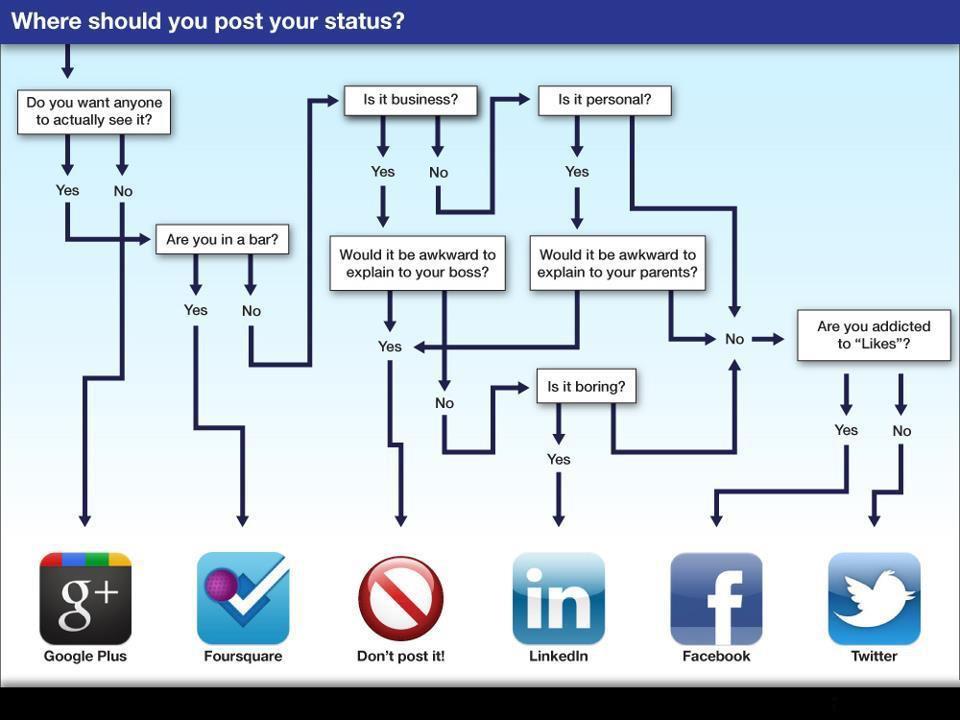 social flow chart